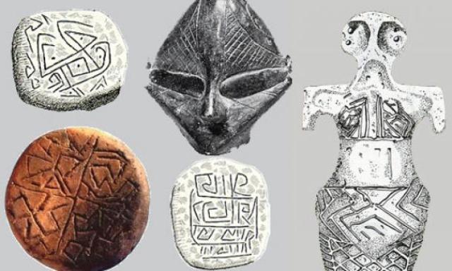 danube script artefacts - Códigos e inscripciones misteriosas sin descifrar