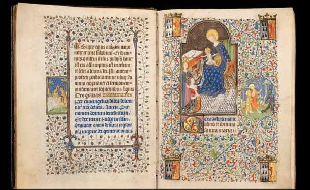 Infrared Reveals a Wife Swap in a Prominent Medieval Religious Book