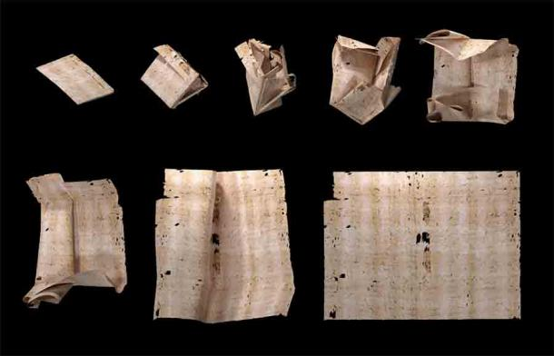 Sealed Letter Virtually Unfolded to Reveal Forgotten Renaissance Story