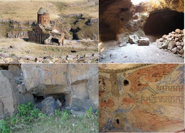 Túneles subterráneos secretos del antiguo culto mesopotámico - ruinas de Ani