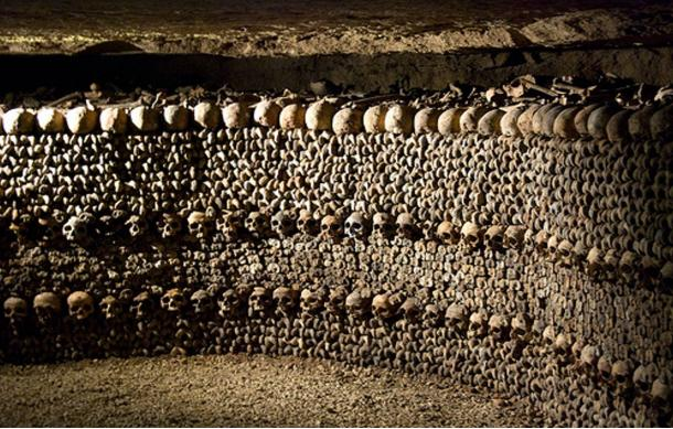 The historic underground catacombs are the final resting place of millions of Parisians.