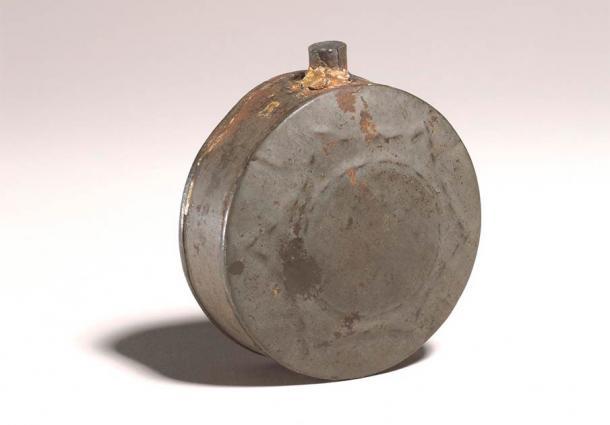 Fiole de pèlerin de guérison islamique.  (British Museum / CC BY-SA 4.0)