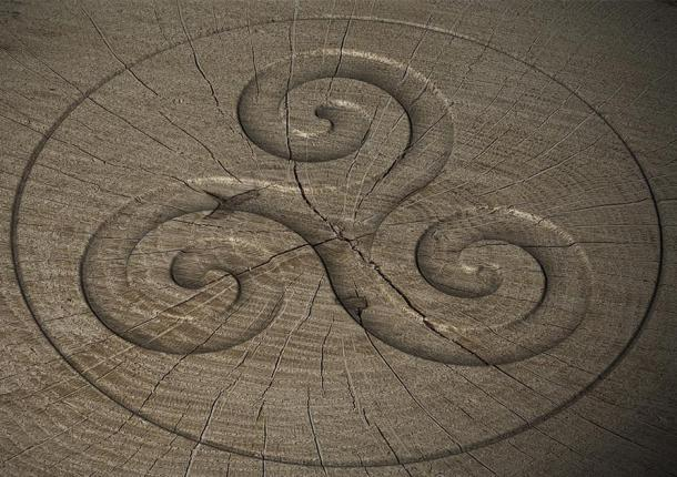 Celtic Spiral of Life symbol (markus dehlzeit/ Adobe Stock)