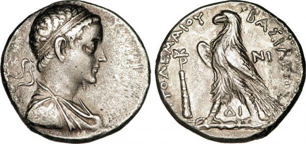 Tetradrachm délivré par Ptolémée V Epiphanes.  (CC BY SA 3.0)