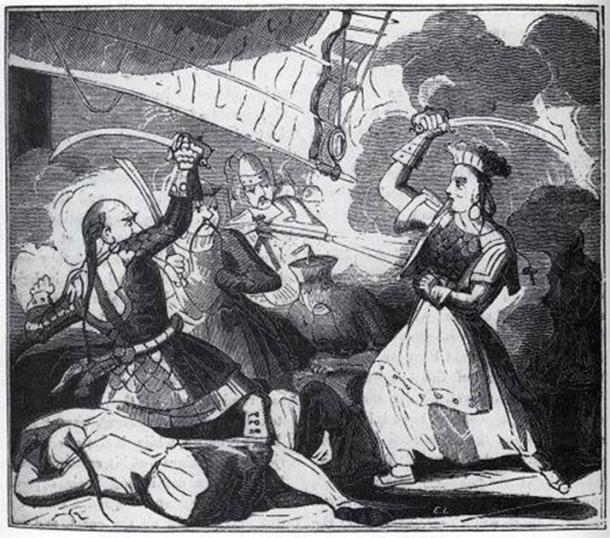 Aussi connue sous le nom de Madame Cheng, Ching Shih régnait à son époque sur la mer de Chine méridionale.  (Domaine public)