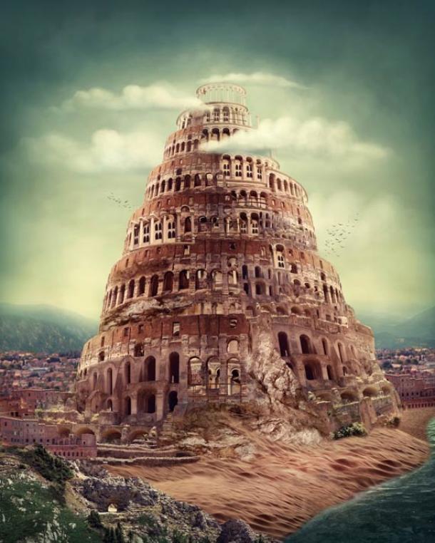 Il existe des parallèles mythologiques répandus reliant une histoire à celle de la tour de Babel