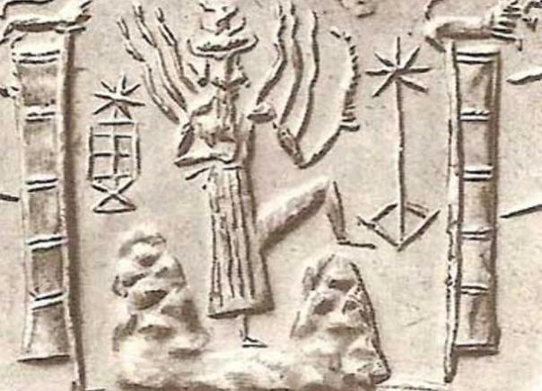 La deidad sumeria, Utu