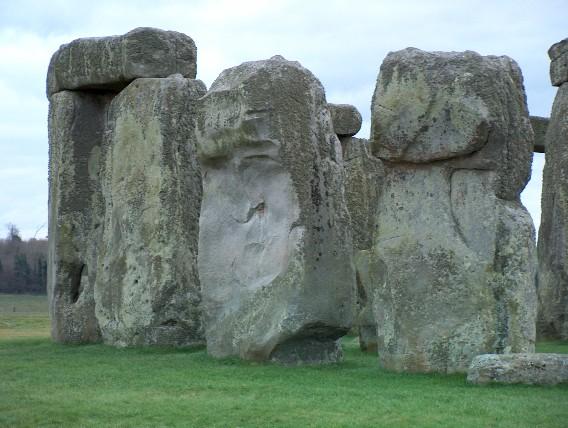 stonehenge face