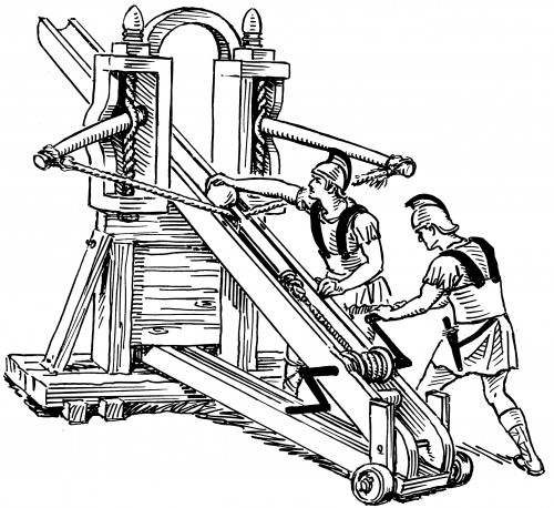 Roman Stone-throwing Ballista