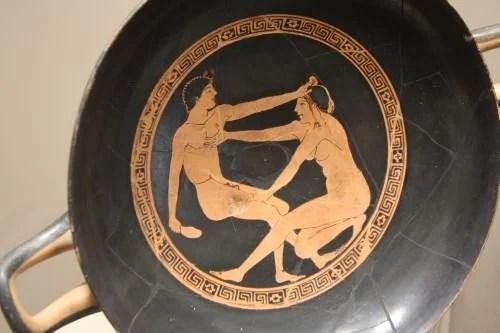 Greek Erotic Scene