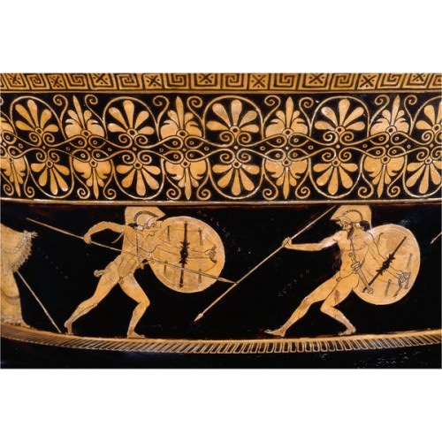 Achilles Fighting Hektor