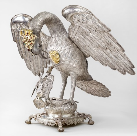 Eucharistic urn in the shape of a pelican