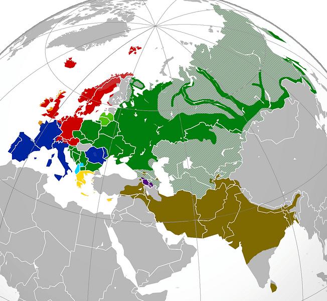 Risultati immagini per indo-european languages