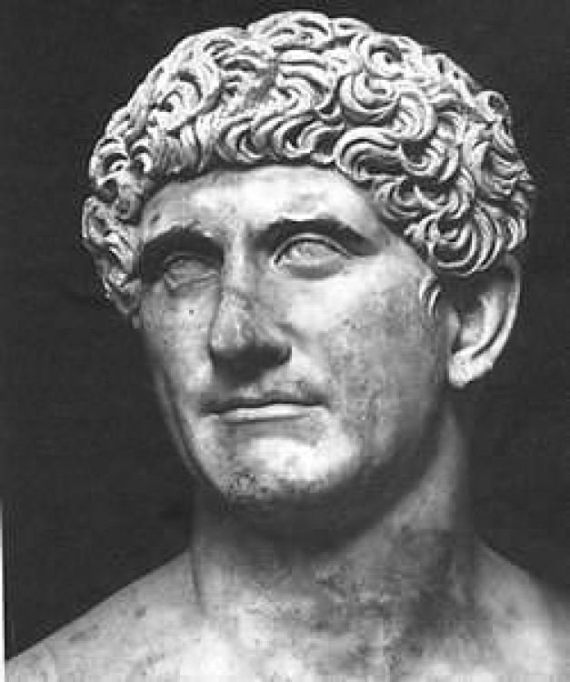 Image result for Ancient Roman sculpture Marcus Antonius