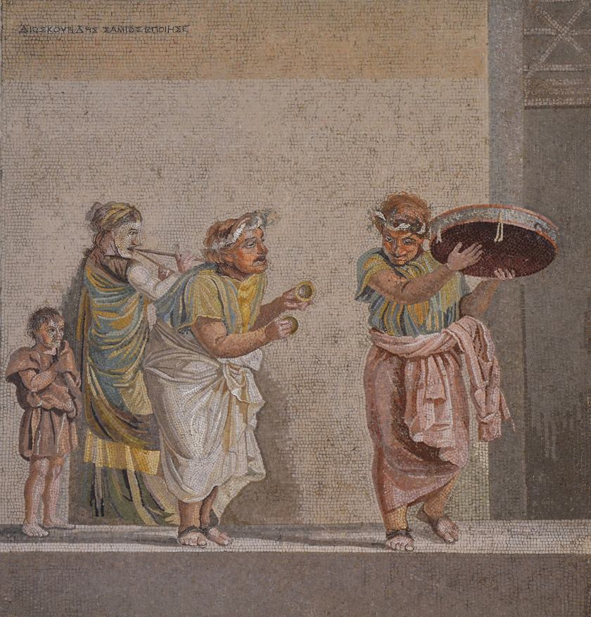 Mosaic with Musicians