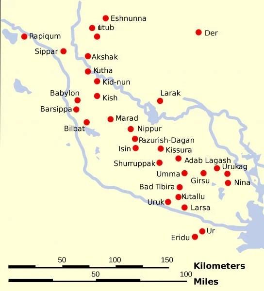 Bilderesultat for sumerian cities
