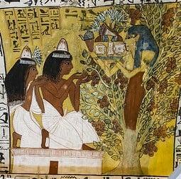 Sennedjem, Iyneferti & The Lady of the Sycamore