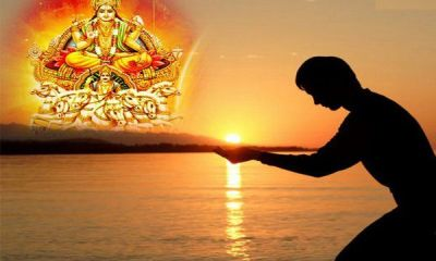 How To Offer Water To Surya Dev
