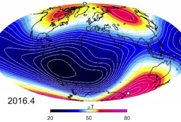 EARTH'S MAGNETIC FIELD IS CHANGING