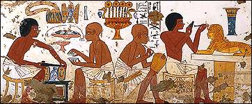 Ancient Egyptian workshop