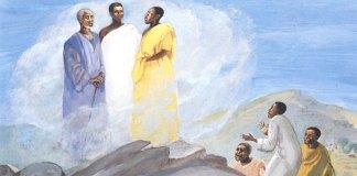 Transfiguration, Jesus Mafa