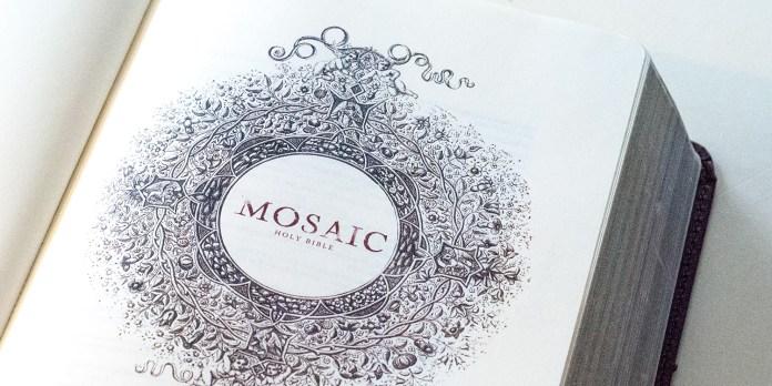 Mosaic Bible Logo
