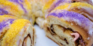 King Cake and a Baby