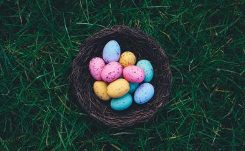 Easter Basket in Grass