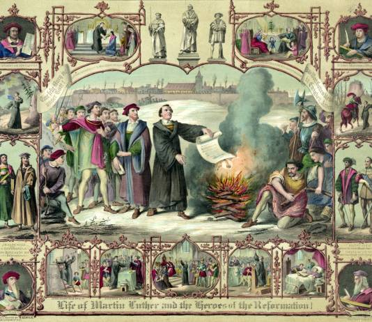 The Life of Martin Luther and the Heroes of the Reformation