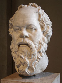 Image result for Ancient GReek Socrates