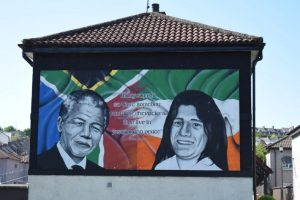 Sands and Mandela on recent tour of Ireland