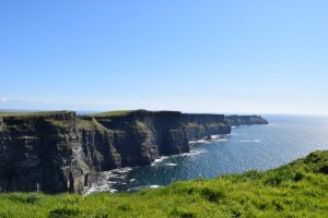 Cliffs of Moher seen on Tour of Ireland