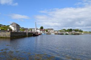 Visit Ireland and marvel at Kinvara Harbour