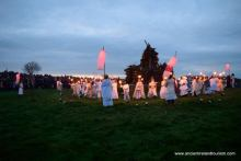 Druid women on Bealtaine at Uisneach