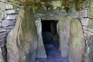 Tour inside Loughcrew in Ireland