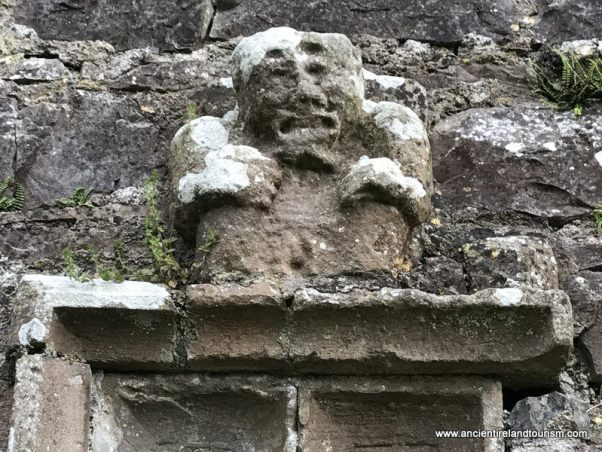 Sheela na gig near Mullingar