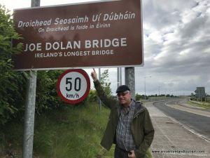 Pics from Ireland tours Joe Dolan Bridge