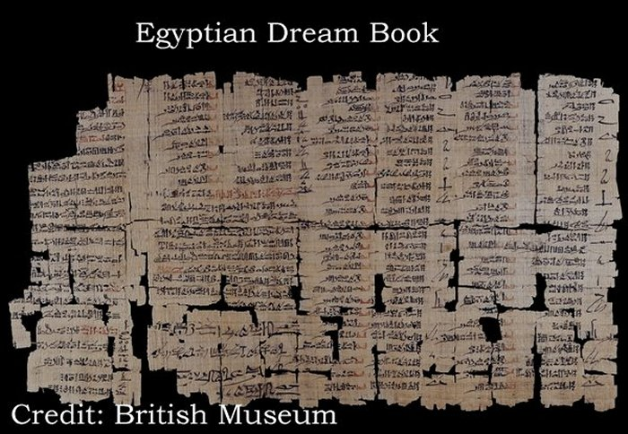 The Egyptian 'Dream Book' – Rough Diplomacy