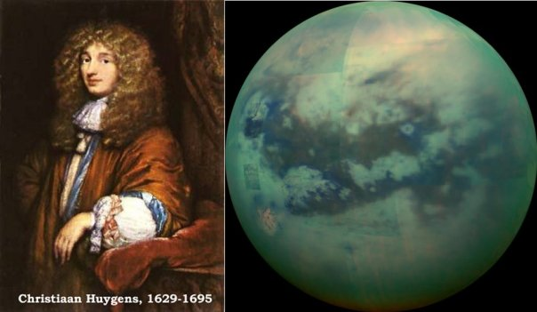 Image result for 1655 – Saturn's largest moon, Titan, is discovered by Christiaan Huygens