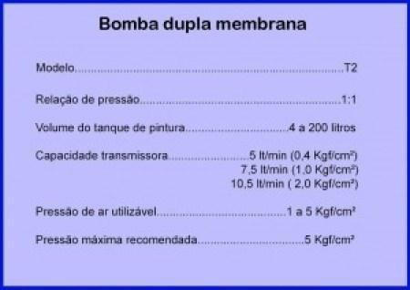 Tabela membrana T2