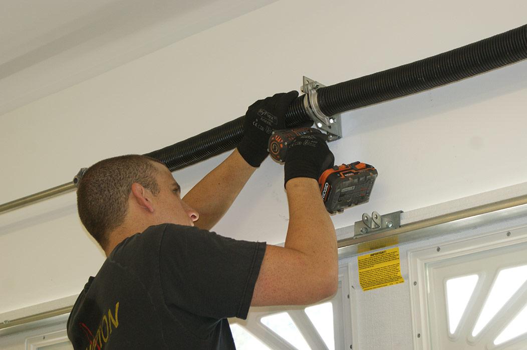 Broken Garage Door Springs Repair | Anco Ovehead Door on Overhead Garage Door Spring Replacement  id=24852