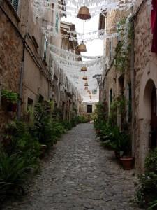 Street in Mallorca