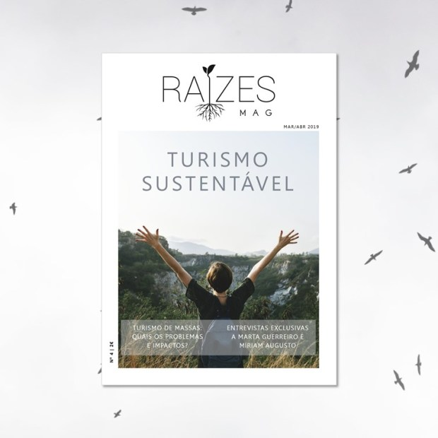 Raízes Mag; Capa; N.º 4; Turismo sustentável