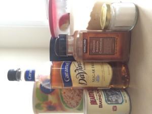 Ingredient line up