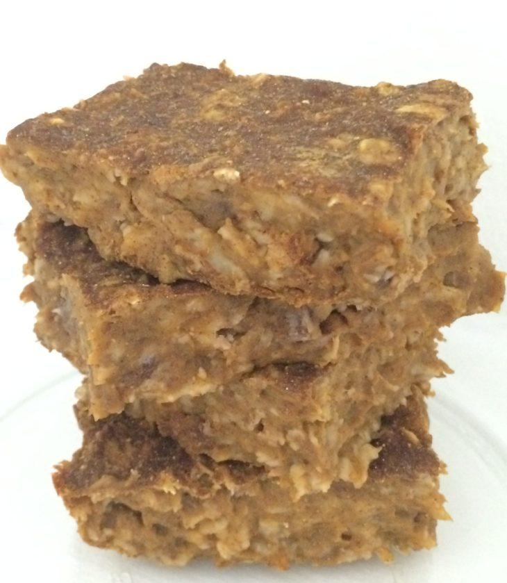 oatmeal pumpkin protein bars