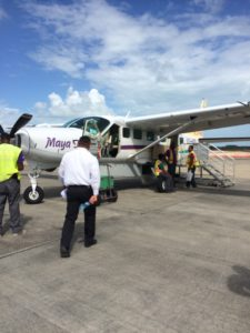 Puddle Jumper Belize...And A Dash of Cinnamon