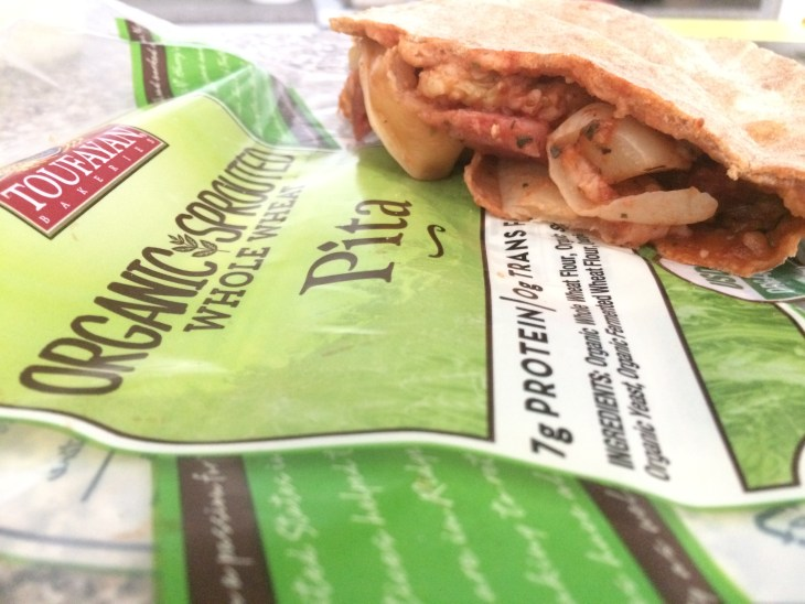 #sponsored Pita Calzone...And A Dash of Cinnamon