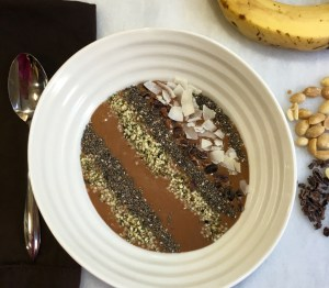 Guest Post Chocolate PB Energy Bowl2 [Clean, Vegan, GF]...And A Dash of Cinnamon