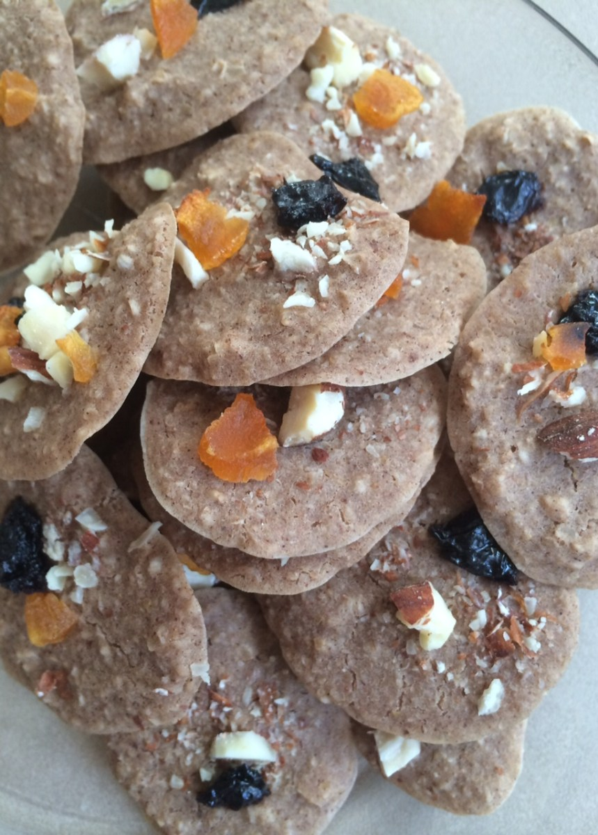Chococherry Almond & Apricot Protein Breakfast Cookies [Clean, GF, Vegan] and Solar Retinopathy