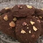 Flourless Chocolate Tumeric Pistachio Protein Cookies [Clean,Vegan, GF] Plate...And A Dash of Cinnamonv
